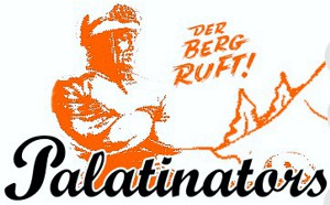 Palatinators - The Kids Are All Breit (Alternativer älterer Logoentwurf)